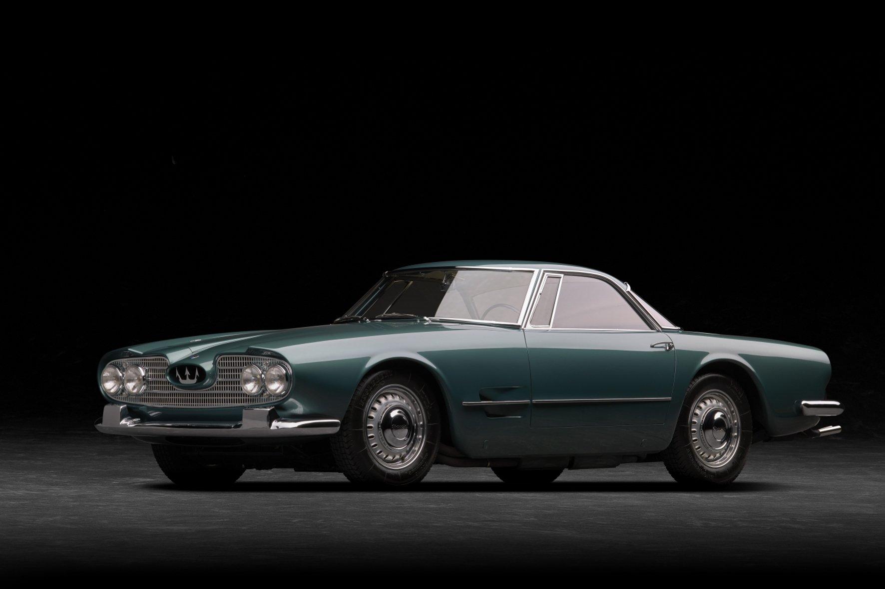Echter Klassiker: der Maserati 5000 GT.