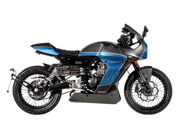 FB Mondial Sport Classic 125i ABS verneigt sich vor Nello Pagani