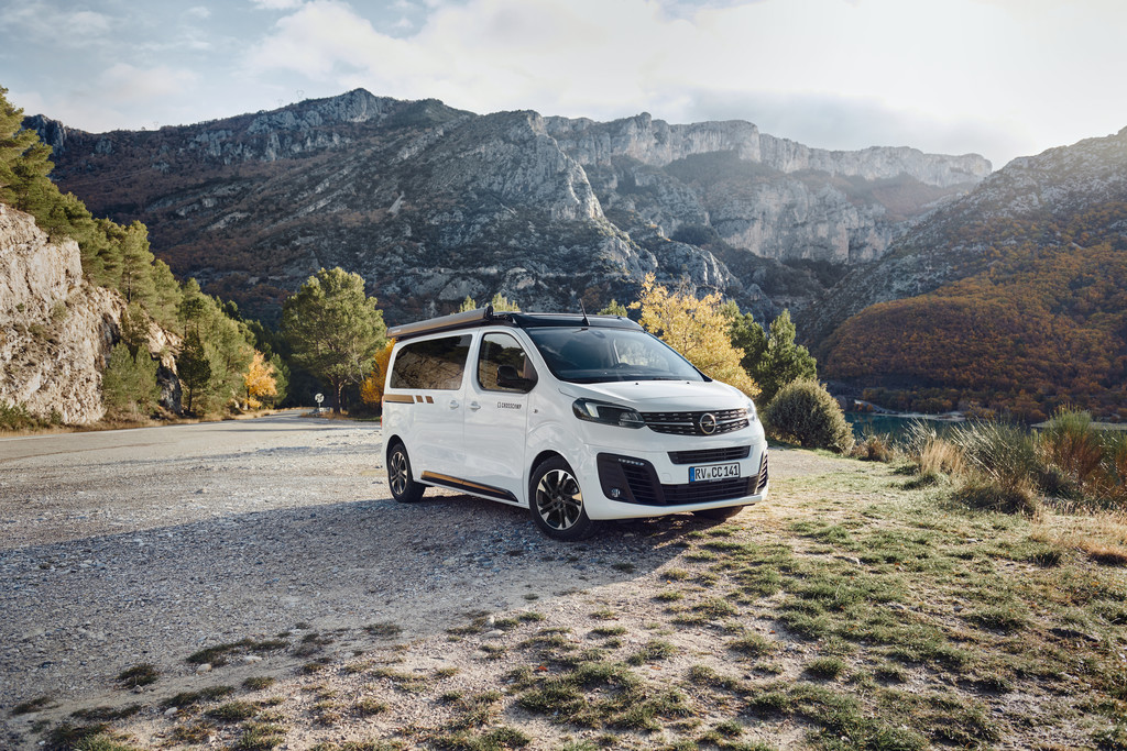 Opel Zafira Life Crosscamp.