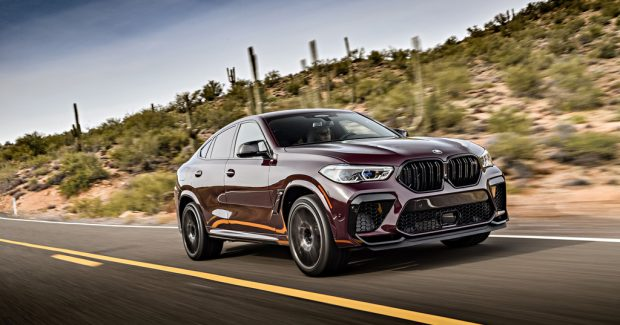 BMW X6 M Competition.