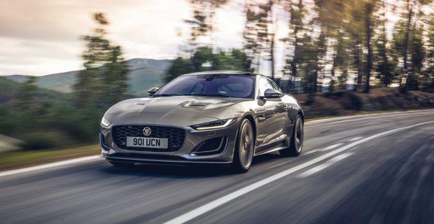 Im Jaguar F-Type gibt es jetzt Spotify