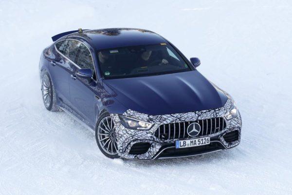 Mercedes-AMG GT 4 Hybrid.