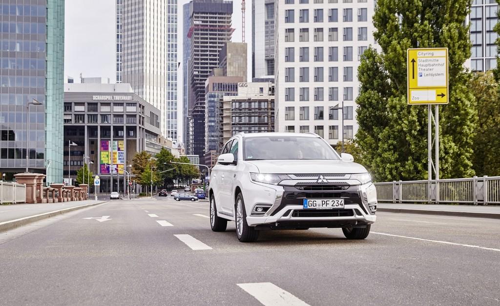 Mitsubishi Outlander Plug-in Hybrid.