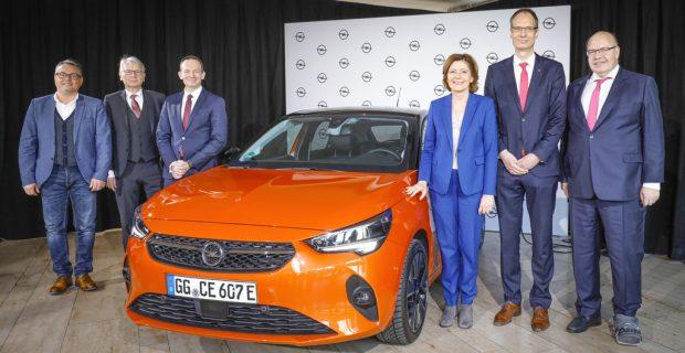 Opel setzt auf eigene Batteriezellenproduktion