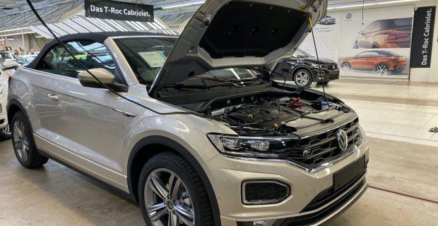 Produktion des VW T-Roc Cabriolet in Osnabrück.
