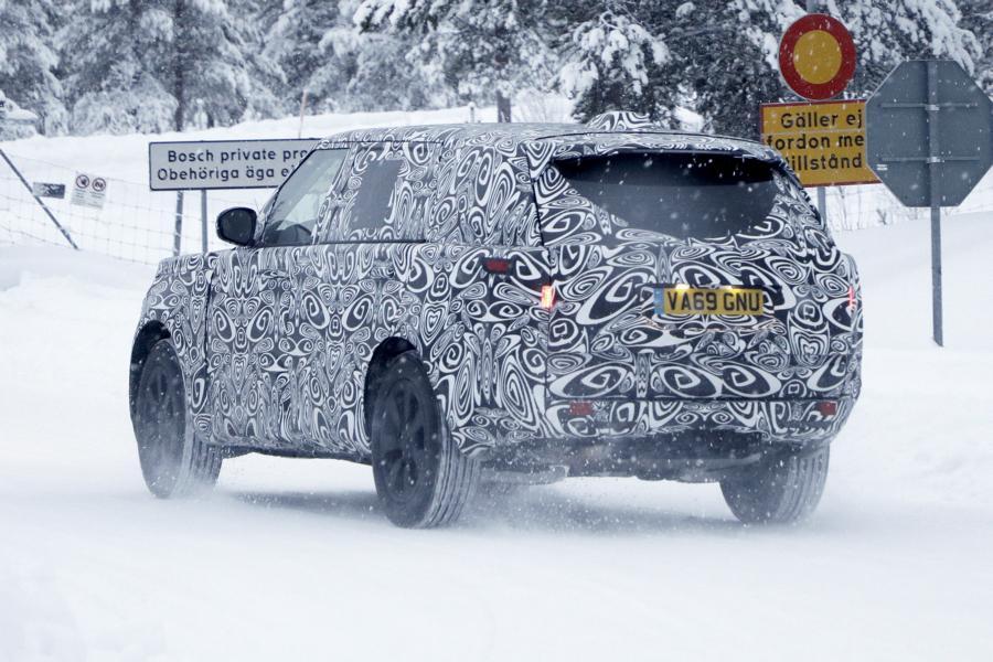 Range Rover LWB.