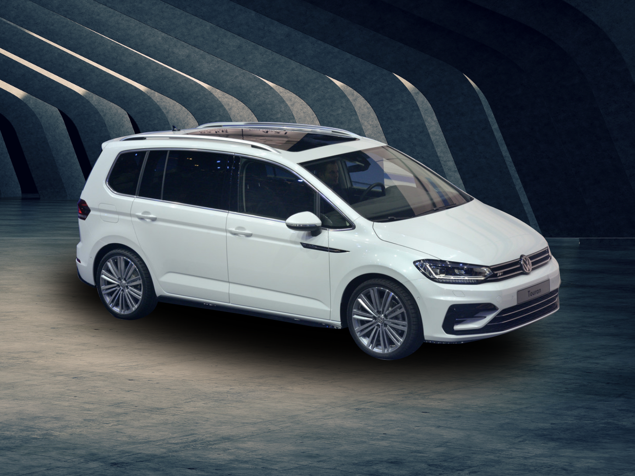 Volkswagen Touran R-Line Highline.