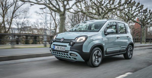 Fiat Panda Hybrid.