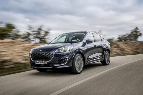 Fahrvorstellung Ford Kuga: Dreimal Hybrid