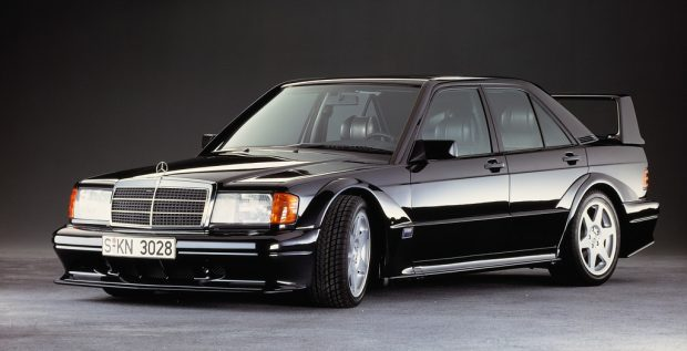 Mercedes-Benz 190 E 2.5-16 Evolution II (1990).