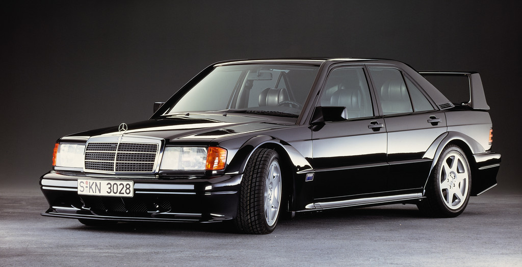 Mercedes-Benz 190 E 2.5-16 Evolution II (1990).