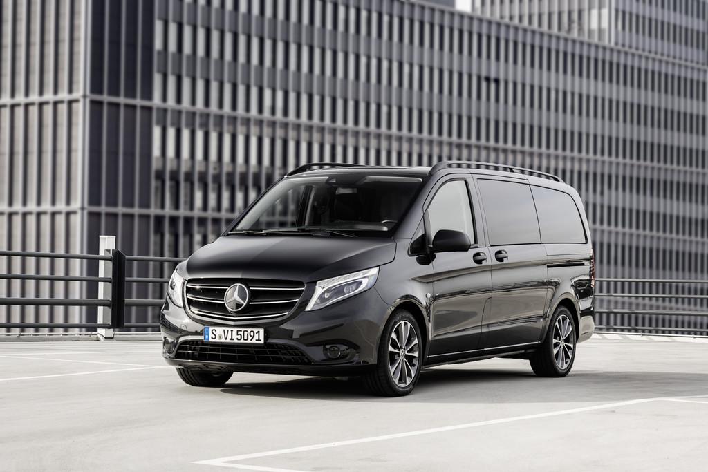 Mercedes-Benz e-Vito.