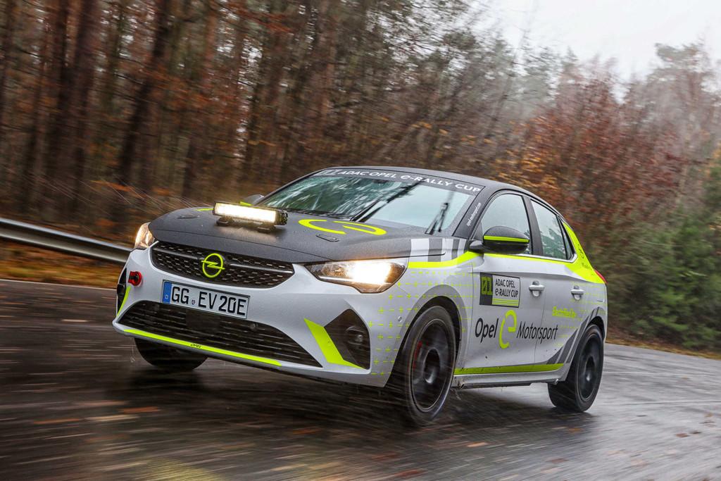 Opel Corsa-e-Rally.