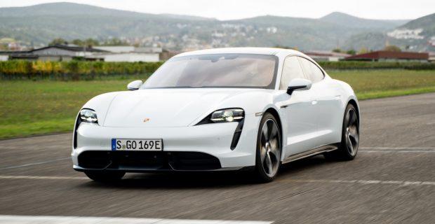 Die besten Autos in Deutschland: Porsche Taycan