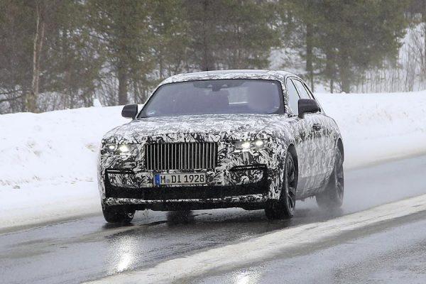 Zwei Rolls-Royce Ghost Erlkönige in Schweden erwischt