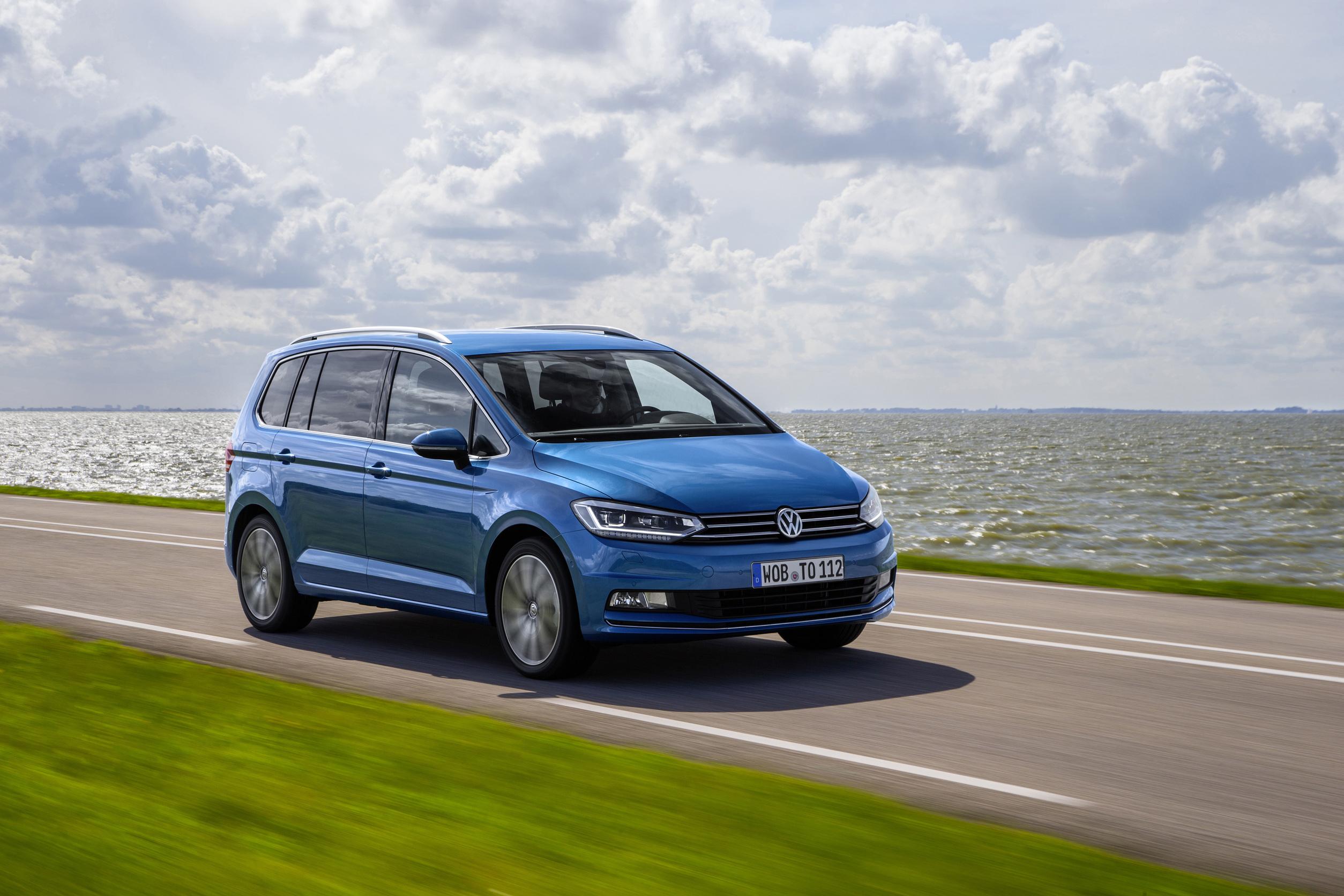 Volkswagen Touran Comfortline.