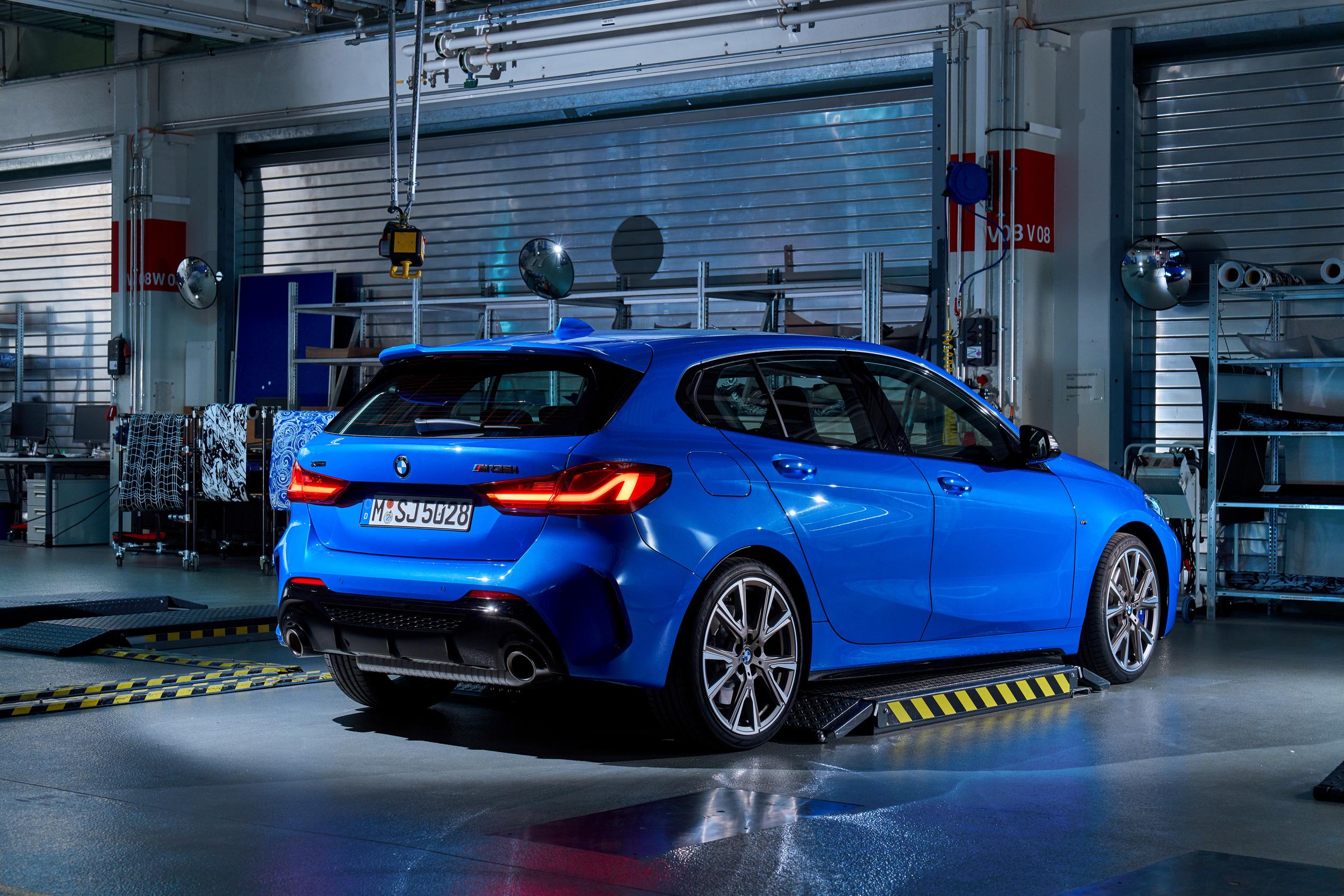 BMW 118.