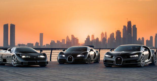 Die drei von Bugatti – moderne Stellvertreter auf Erden?
