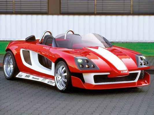 Concept Car MR2 Street Affair der Toyota Motorsport GmbH.