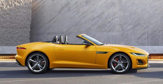Jaguar F-Type Cabriolet: dynamisch unterwegs