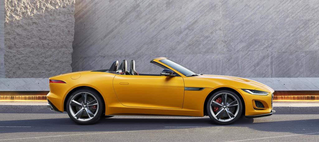 Jaguar F-Type Cabriolet.