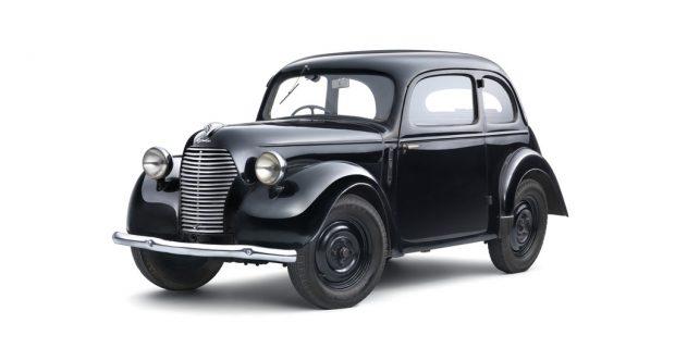 Skoda Sagitta. Serienmodell von 1938 als Skoda 995 Popular