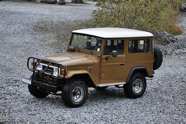 Toyota Land Crusier BJ42 aus den 1970er- und 80er-Jahren.
