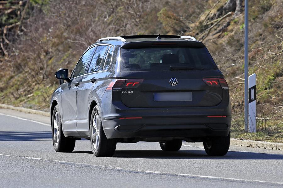 VW Tiguan.