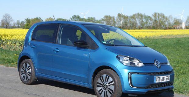 Volkswagen e-Up: Wer bremst, hat verloren
