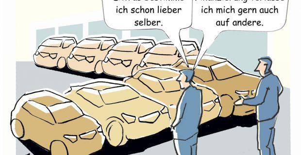 Deutsche haben immer noch Spaß am Auto