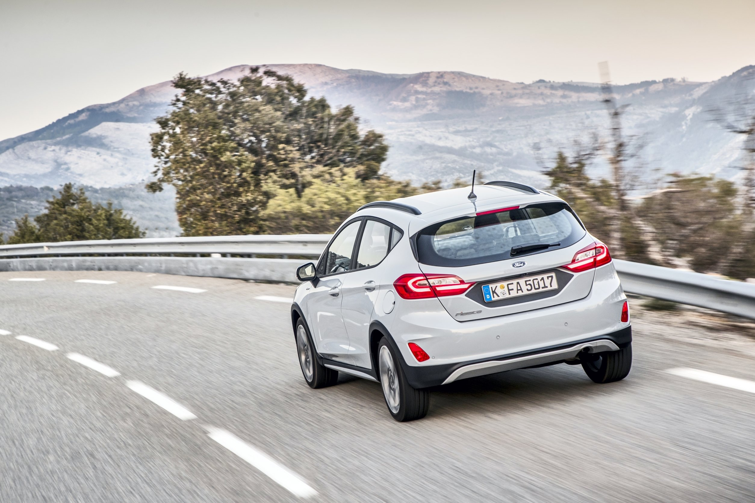 Ford Fiesta Active.