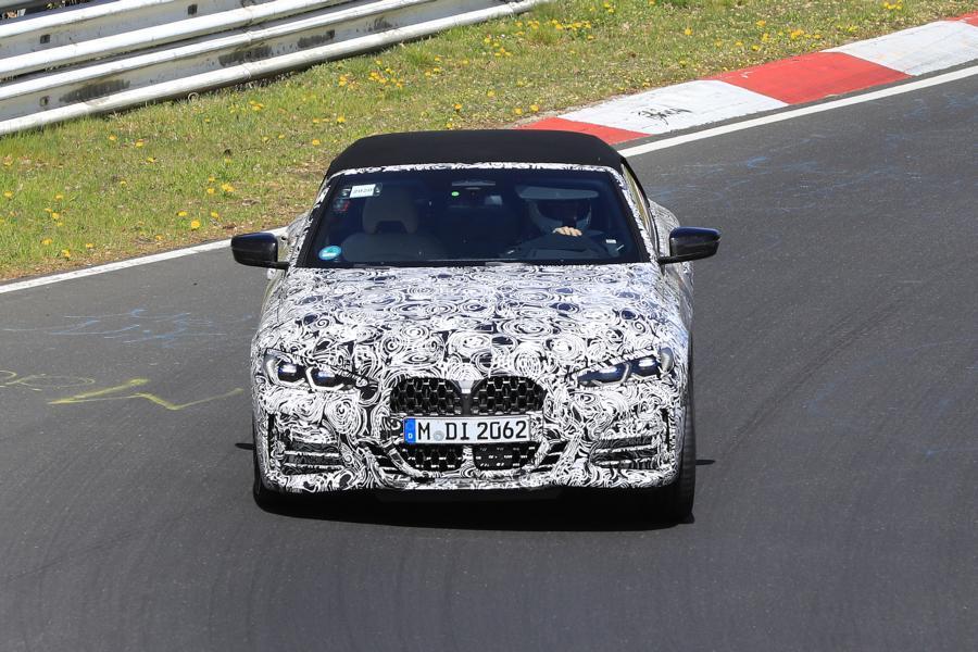 BMW 4er Cabrio.