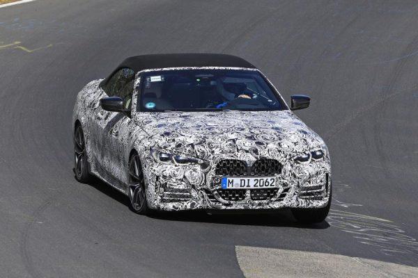 BMW 4er Cabrio Erlkönig auf dem Nürburgring