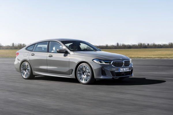 BMW 6er Gran Turismo aufgefrischt