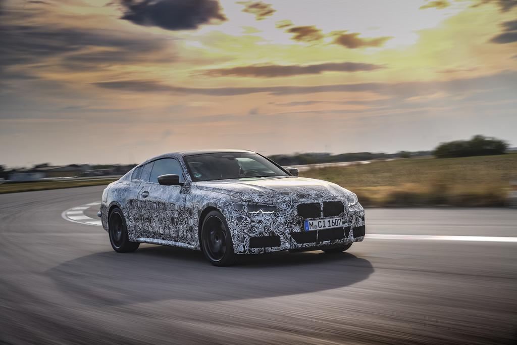 Noch getarnt: BMW 4er Coupé.