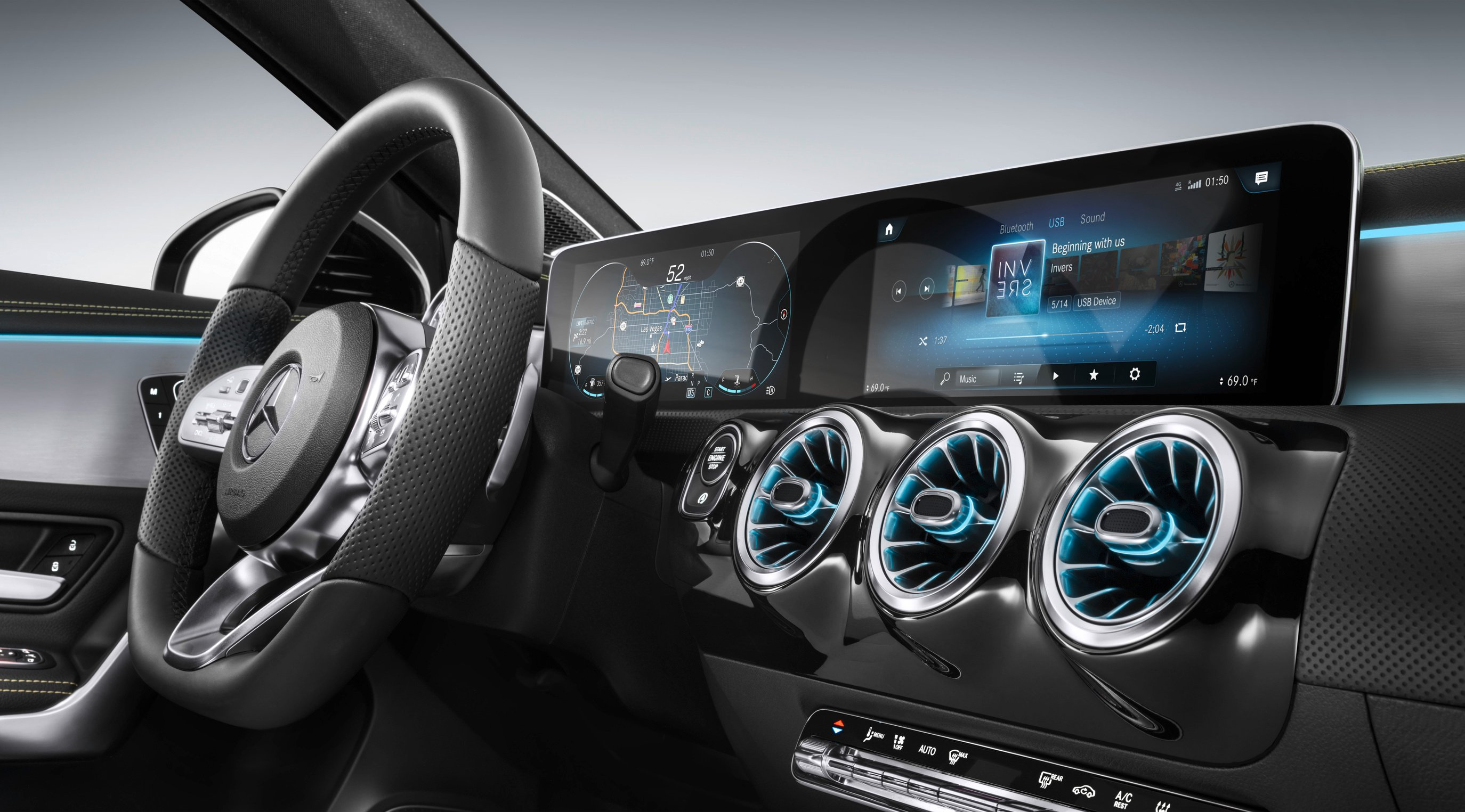 Mercedes-Benz A 200 AMG.