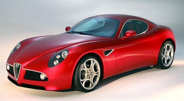 Alfa Romeo 8C Competizione (2007–2010).