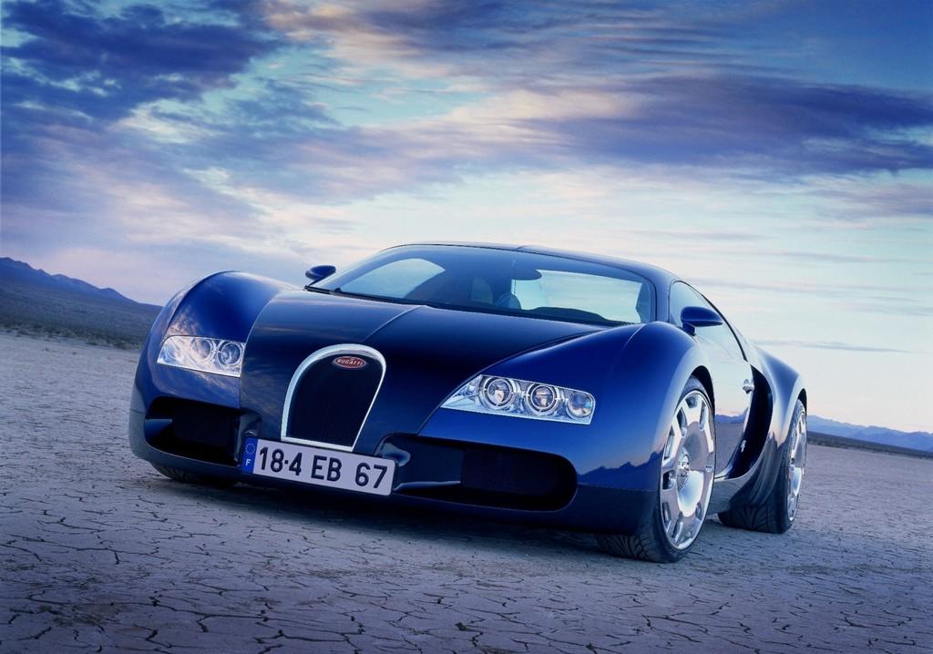 Bugatti 18-4 Veyron (1999).
