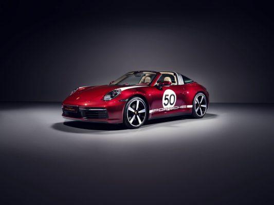 Porsche 911 Targa 4S Heritage Design Edition.