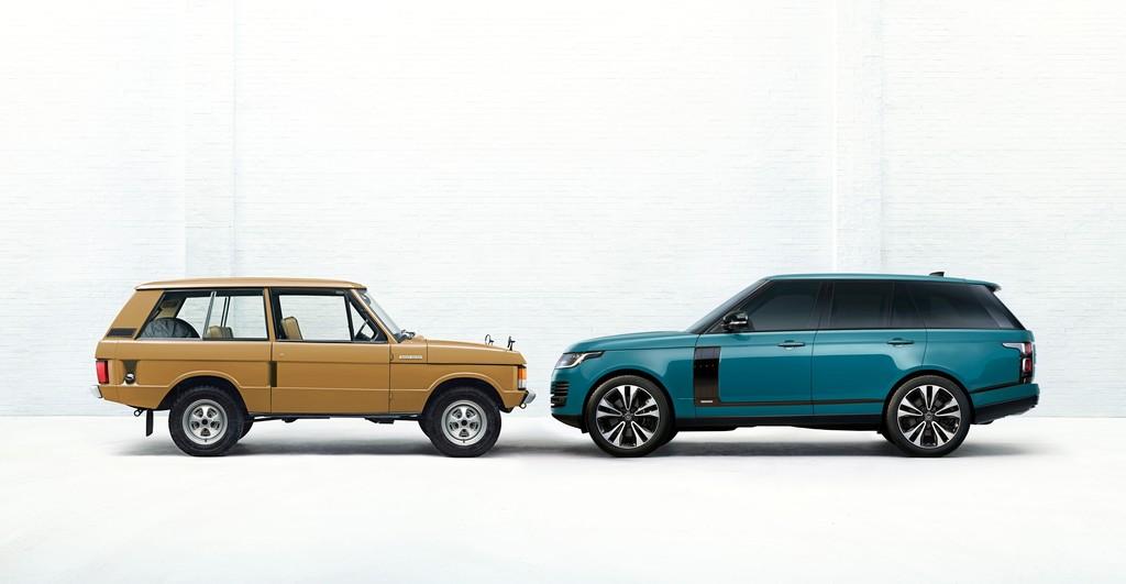 Range Rover I und Range Rover Fifty.