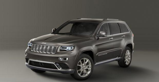 Jeep Gran Cherokee Overland: Reif und Patent