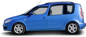 Skoda Roomster Van (5J7)