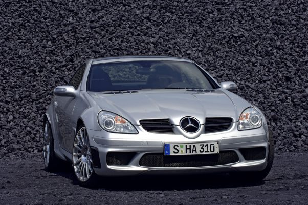 Mercedes-Benz SLK 55 Black Series (2006).