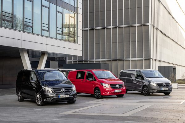Mercedes-Benz Vito: Elektrisch in die City