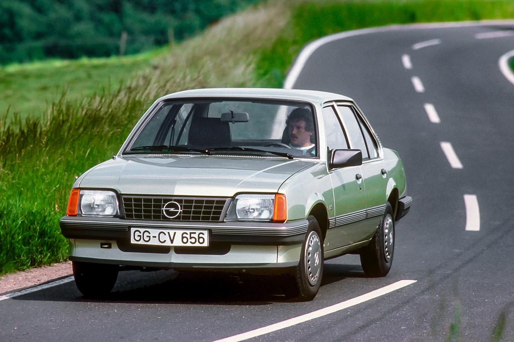 Opel Ascona.