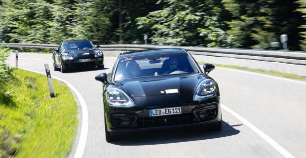 Porsche Panamera wird aggressiver und komfortabler