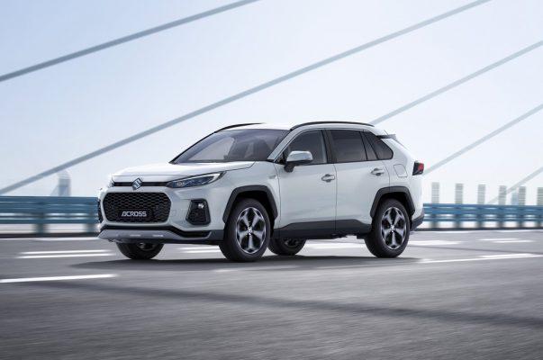 Suzuki Across: Kompakt-SUV mit Toyota Genen