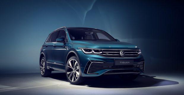 Volkswagen Tiguan: Der erste mit Taste für die Rennstrecke