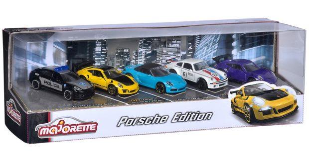 En miniature: Porsche 911 im 5er- und im 8er-Pack