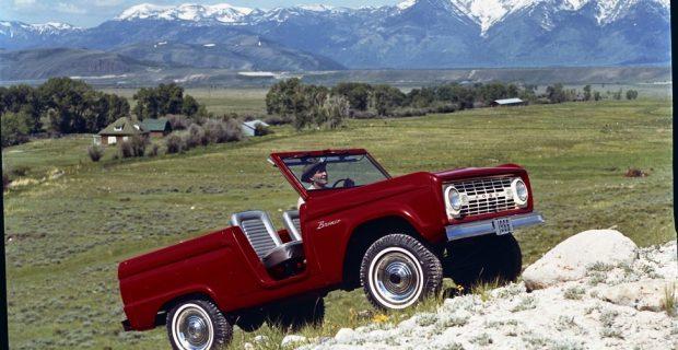 Der Ford Bronco gehört zu Amerika